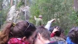 Adršpašské jezírko - projížďka na loďce (s vtipným výkladem)