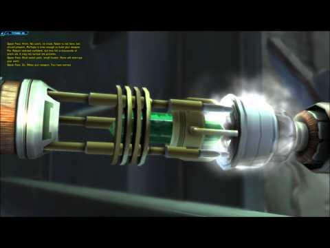 Epic Lightsaber creation SWTOR