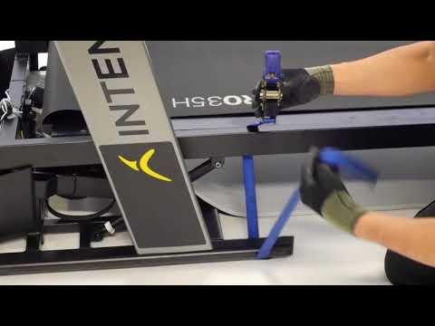 How to change the belt on an Intense Run treadmill ?