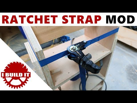 Ratchet Strap To Strap Clamp Cheap & Easy