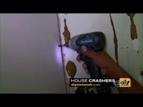 Removing Old Paneling Made Easy - House Crashers