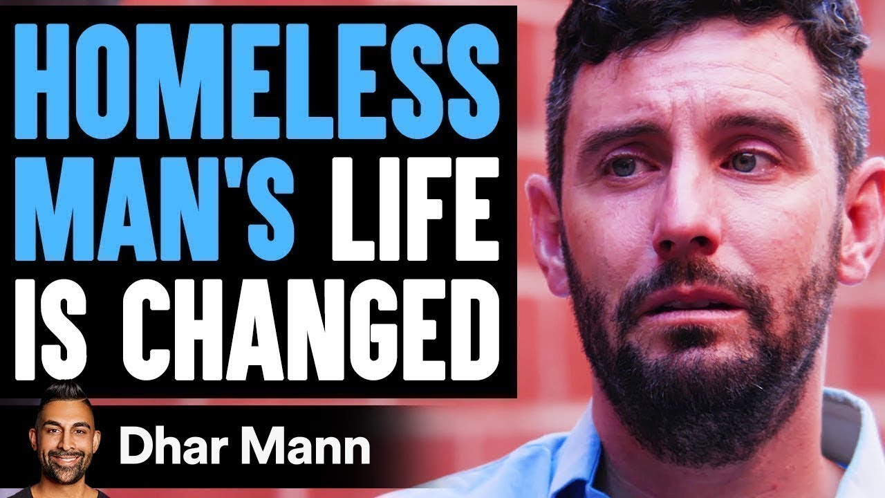 Homeless Man's LIFE IS CHANGED, What Happens Is Shocking | Dhar Mann