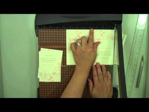 How to Make RSVP Cards or Reply Cards