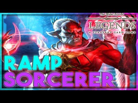 THE LEGEND BUILD | HoS RAMP CONTROL SORCERER DECK 🗡️TES LEGENDS | The Elder Scrolls Legends Furo