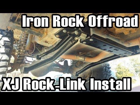 89 Cherokee IRO Rock-Link Long Arm Install