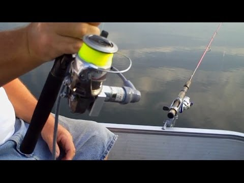 Disabled Angler Catching Fish with Fishing Abilities FreedomFISHR™ Electric Fishing Reel