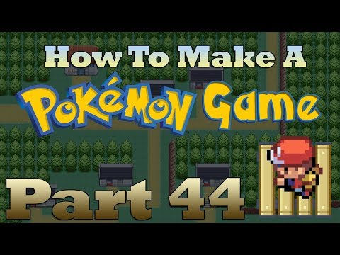 How To Make a Pokemon Game in RPG Maker - Part 44: Bridges