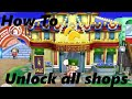 How To Unlock All The Shops In ACNL