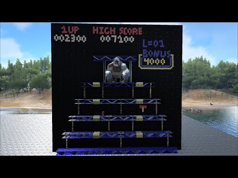 ARK Survival: Classic Donkey Kong Arcade - Stage 3/3
