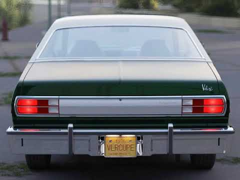 3D Model of Plymouth Volare Coupe 1976