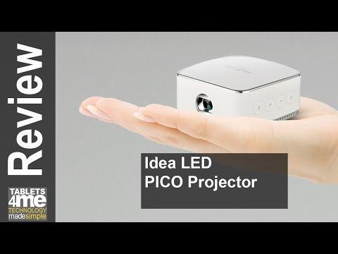 iDea LED Pico Projector - HD Video