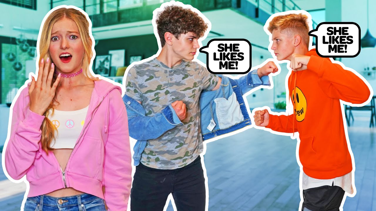 MY CRUSH'S FIGHT IN FRONT OF ME **gone wrong**🥊 |Emily Dobson
