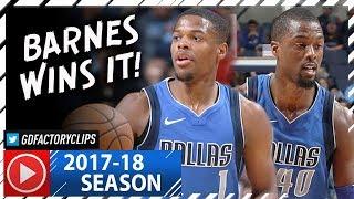 Harrison Barnes 22 Pts & Dennis Smith Jr. 17 Pts Full Highlights vs Grizzlies (2017.11.22) - SICK!
