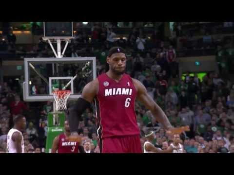 LeBron James Alley oop dunks on Jason Terry and makes him fall Greatest dunk of All Time ?