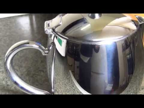 Grunwerg Bellux Stainless Steel Thermal Wall Teapot review
