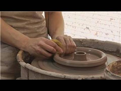 Making a Clay Double Walled Bowl : Outer Walls For Double Walled Clay Bowls