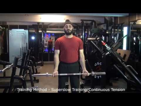 Training Method - Superslow Training/Continuous Tension
