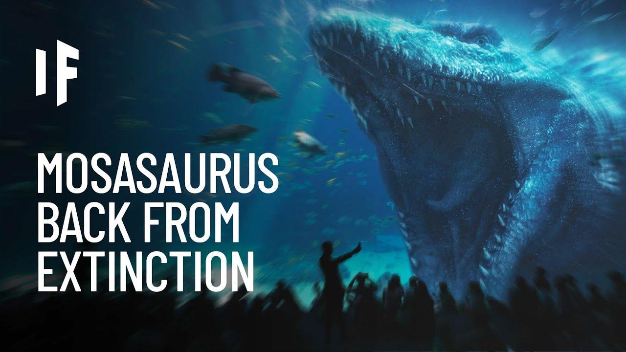 What If Mosasaurus Were Still Alive?