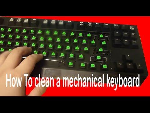 How To Clean Mechanical Keyboards| Razer BlackWidow Tournament edition