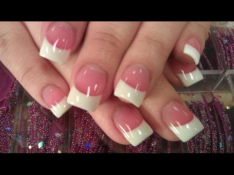 HOW TO PERFECT SOLAR PINK AND WHITE NAILS PART 3 final shine