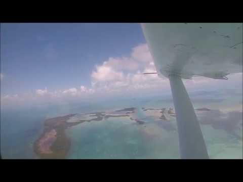 Belize - Chartered Tropic Air Flight, Golf Carting around San Pedro (Ambergris Caye)