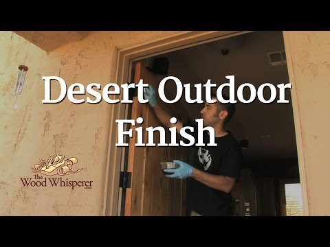 46 - Desert Outdoor Finish