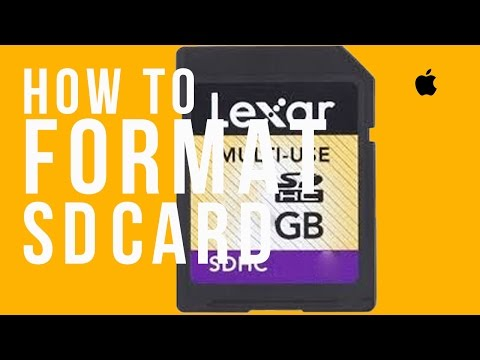 LEXAR sd card basic set up guide, How to format in Mac and Windows