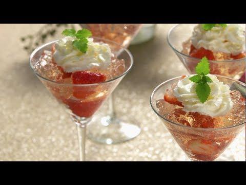HSN   Good Food Fast: Sparkling Rosé and Strawberry Gelatin