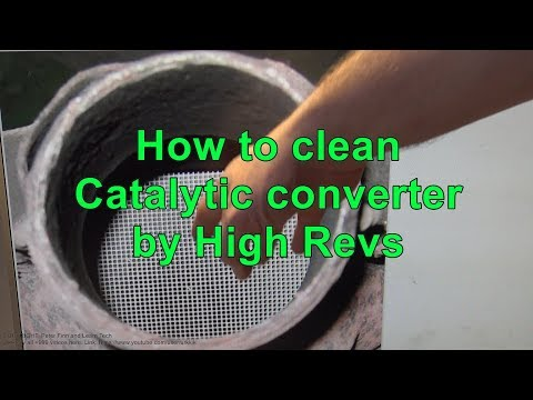 How to clean Catalytic converter by High engine Revs