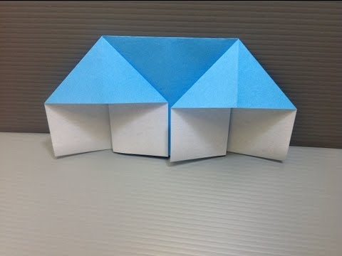 Daily Origami: 008 - House