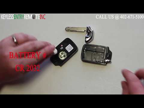 How To Replace A Honda Civic Key Fob Battery 2014 2015