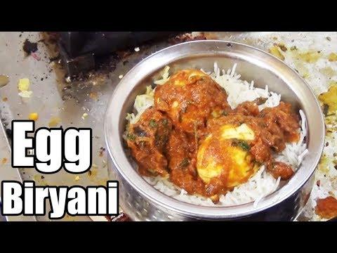 Navayuga Egg Biryani | Hyderabad Special Egg Biryani | Yummy Street Food