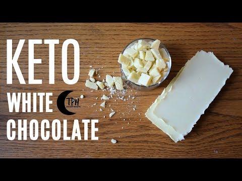 Keto DIY White Chocolate | Low-Carb DIY Chocolate Recipe