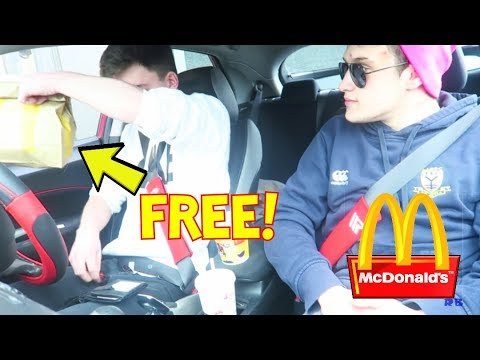 HOW TO GET FREE FOOD AT MCDONALDS!!