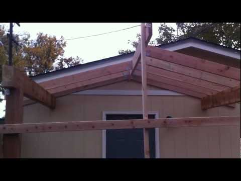 Building a Patio Cover Patio Cover Installation Part 1