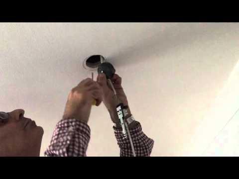 HOW TO REPLACE HALOGEN 12V SPOTLIGHT TO A 230V GU10 LED SPOTLIGHT