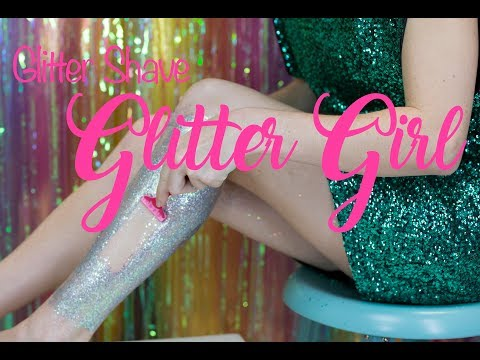 How to Shave your legs the Glitter Girl way!