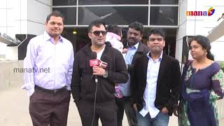 Maa Film Stars Mega Event .stars Arrive At Dallas Airport Only On Usa