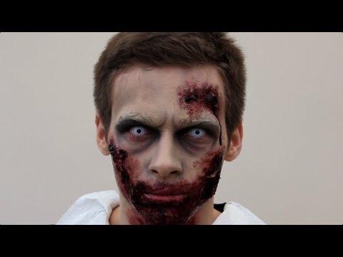 Zombie Make-Up Tutorial For Halloween | SFX Zombie | Shonagh Scott | ShowMe MakeUp