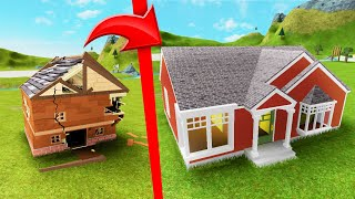 BUILD The BIGGEST HOUSE In Roblox Challenge! - PakVim net HD Vdieos