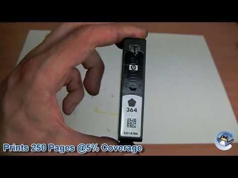 Inside HP 364 Black (CB316EE) Ink Cartridge