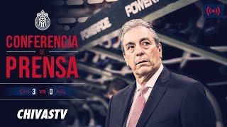 EN VIVO: Conferencia de prensa | Tomás Boy | Postpartido | Chivas 3-0 Atlético San Luis