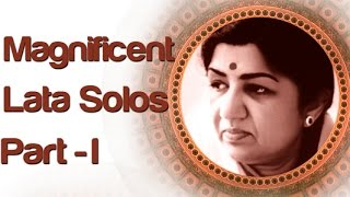 Lata Mangeshkar Solo Superhit Songs - Vol 1 - Old Bollywood Classic Songs