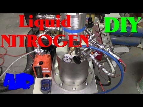 DIY Air Liquefier Build- Liquid Nitrogen Generator