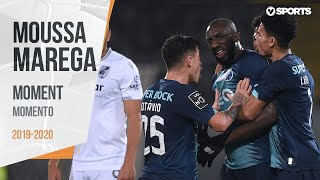 Vitória SC - FC Porto: Marega abandona o relvado
