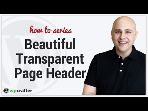 How To Have Transparent Headers In Generate Press WordPress Theme With Any Pagebuilder