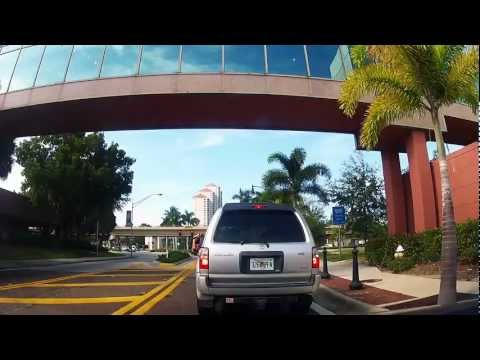 Driving from Downtown Fort Myers, Fl down McGregor Boulevard
