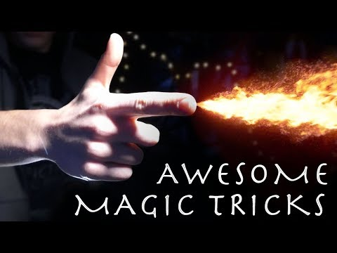 4 Awesome Magic Tricks! (How to Get a Prom Date!!!)
