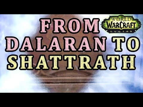 How to get from Dalaran to Shattrath WoW