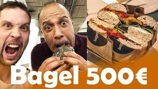 Bagel à 3 € VS 500 € avec Pascal Legitimus
